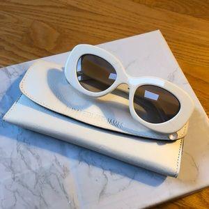 Elizabeth and James Fray 47mm Oversized Sunglasses